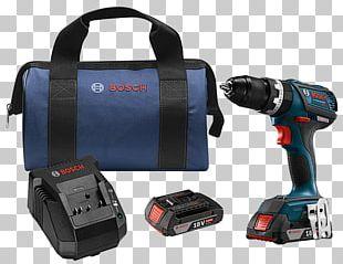 """Augers Cordless Robert Bosch GmbH Tool Bosch 18-Volt EC Brushless Compact Tough 1/2"""" Hammer Drill HDS182 PNG"""