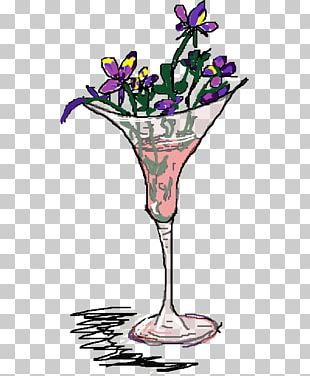 Cocktail Garnish Martini Glass Drink PNG