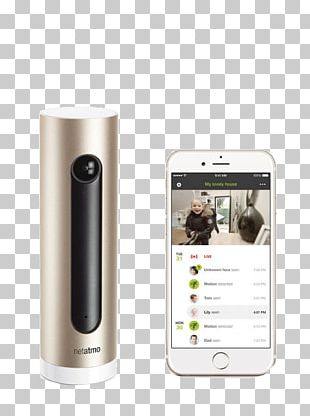 Netatmo Welcome Wireless Security Camera Facial Recognition System IP Camera PNG