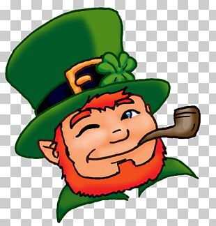 Leprechaun Saint Patricks Day The Real St. Patrick Shamrock PNG