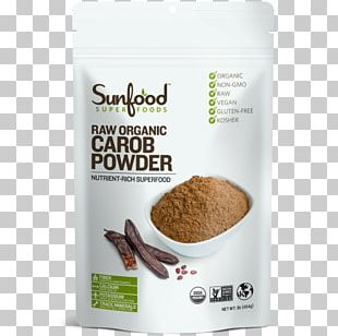 Raw Foodism Organic Food Carob Tree Superfood Smoothie PNG
