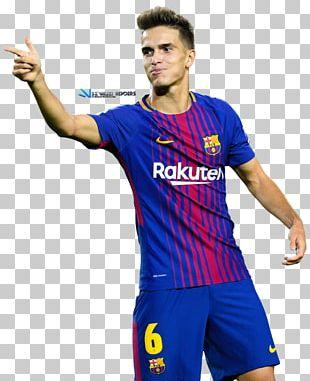 Denis Suárez FC Barcelona Jersey Football Player PNG