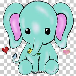 Kitten Kavaii Elephant Cuteness Drawing PNG