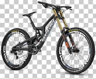 Santa Cruz Bicycles Mountain Bike Downhill Bike PNG