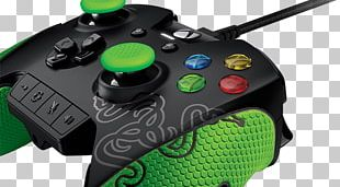 Xbox One Controller Xbox 360 Controller Game Controller Razer Inc. Video Game Console PNG