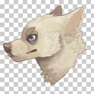 Dog Snout Character Cartoon Paw PNG