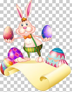 Easter Bunny European Rabbit Easter Egg PNG