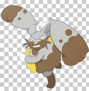 Pokémon X And Y Lopunny Diggersby Pokédex PNG