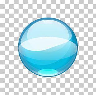 Blue Water Drop PNG