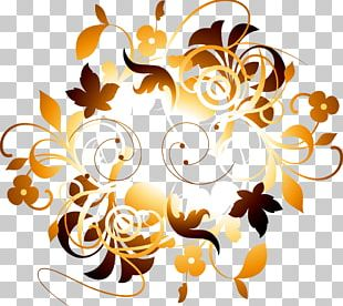 Blumen Samanyolu Flower Orange PNG