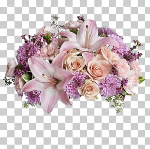 Flower Bouquet Flower Delivery Mother's Day Birthday PNG