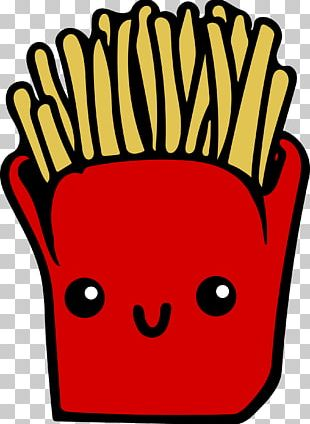 French Fries Fast Food Junk Food Animation PNG