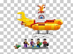LEGO 21306 Ideas Yellow Submarine Lego Ideas The Beatles PNG