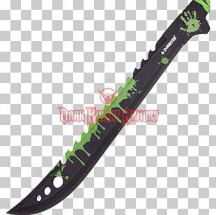 Throwing Knife Machete Steel Blade PNG