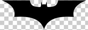 Batman Logo Silhouette PNG