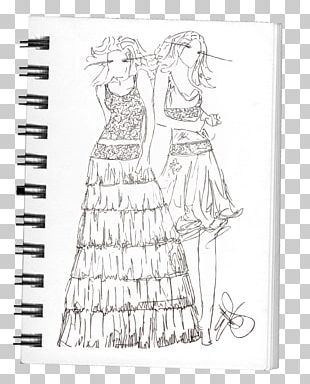 Fashion Design Dress Drawing Sketch PNG