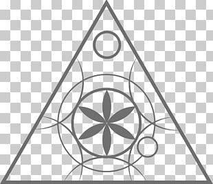Hex Sign Symbol Crop Circle Sacred Geometry Disk PNG