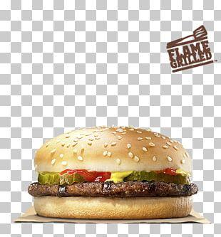 Whopper Hamburger Fast Food Big King Cheeseburger PNG