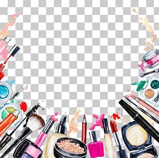 Cosmetics Beauty Lipstick Makeup Brush Eye Shadow PNG