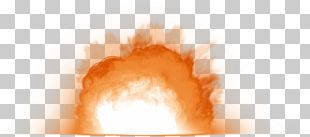 Light Fire Flame Explosion Color PNG