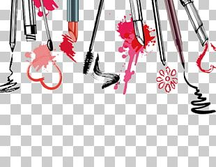 Cosmetics Watercolor Painting Illustration PNG