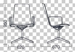 Office & Desk Chairs Table Plastic Armrest PNG