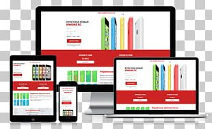 Landing Page Web Page Online Advertising PNG