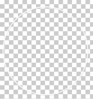 White Circle Symmetry Area Pattern PNG