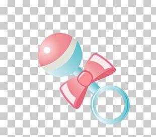 Infant Pacifier Baby Rattle PNG