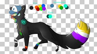 Cat Illustration Horse Canidae PNG
