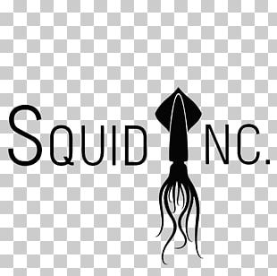 Squid As Food Logo Graphic Design PNG