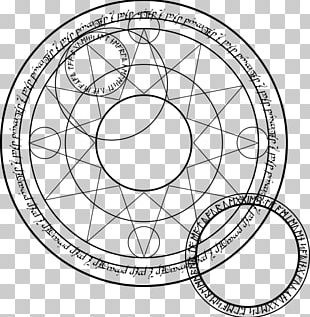 The Magic Circle Spell PNG