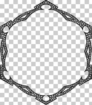 Hexagon Ornament PNG