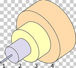 Light Single-mode Optical Fiber Core Multi-mode Optical Fiber PNG