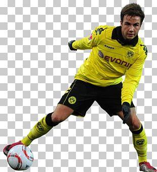 Mario Götze Borussia Dortmund Football Player Team Sport PNG