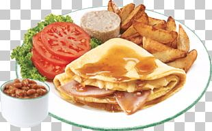 Breakfast Sandwich Cuisine Of The United States Fast Food Take-out Full Breakfast PNG