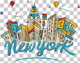 Empire State Building Landmark Cartoon PNG