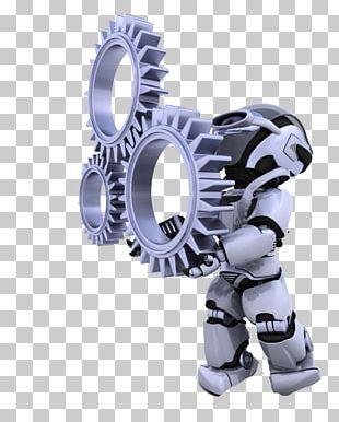 Robot Gear Mechanical Engineering Mechanism PNG