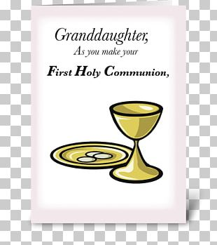 Eucharist First Communion Chalice Gift PNG