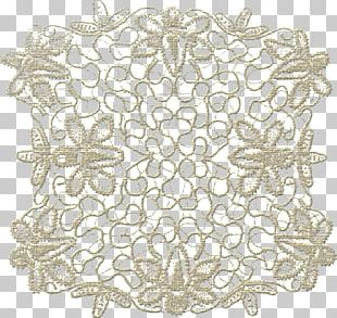 Blonde Lace Place Mats Portable Network Graphics Doily PNG