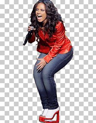 Alicia Keys Singing Loud PNG