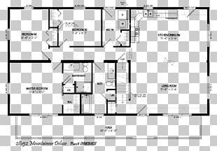 Log Cabin House Plan Floor Plan PNG