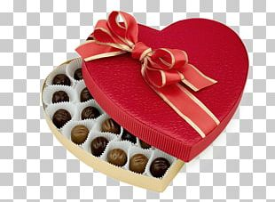 Chocolate Truffle Valentine's Day Bonbon Candy PNG
