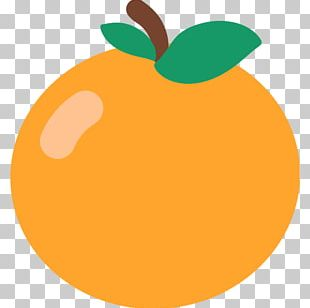 Food Fruit Orange Emoji Computer Icons PNG