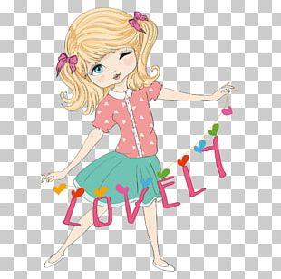 Girl Woman Illustration PNG
