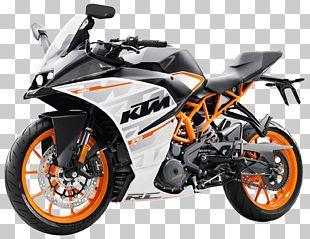 KTM 390 Series Motorcycle PNG