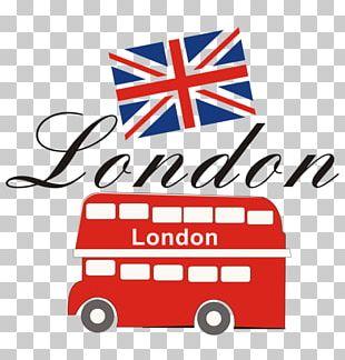 London Bus Drawing Illustration PNG