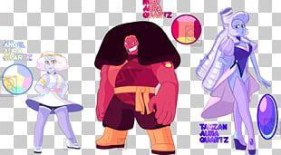 Steven Universe Metal-coated Crystal Garnet Rose Quartz PNG