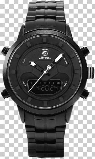 SHARK Sport Watch Quartz Clock Movement Chronograph PNG
