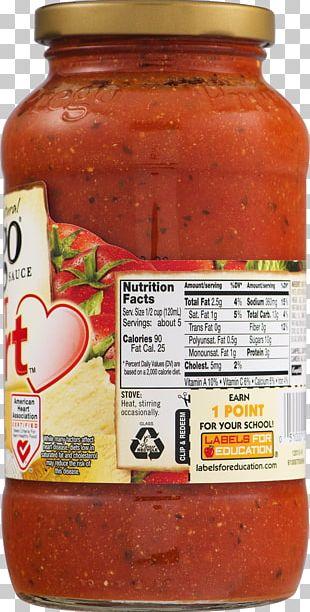 Campbell Soup Prego Heart Smart Italian Sauce Campbell Soup Prego Heart Smart Italian Sauce Sweet Chili Sauce Chutney PNG